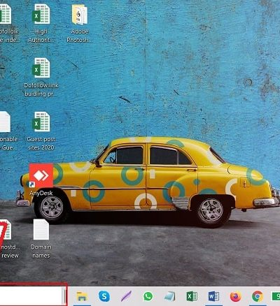 Resize the Search box on Taskbar in windows 10