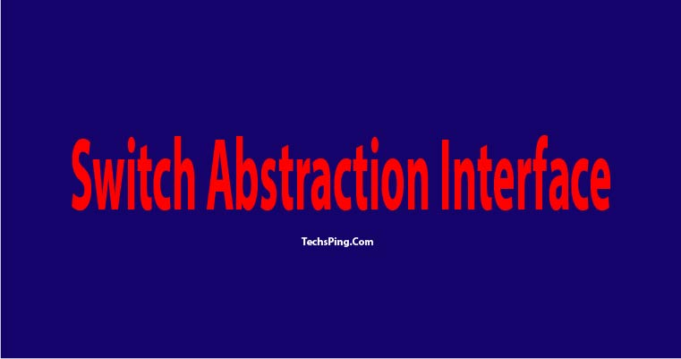 Switch Abstraction Interface